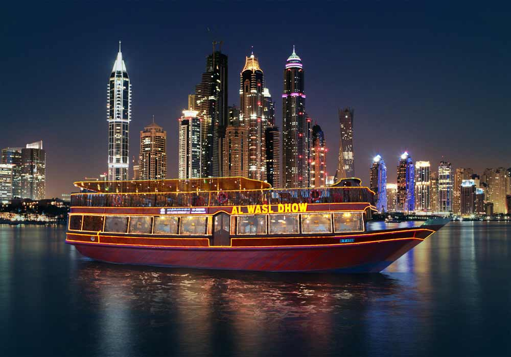 Dhow Cruise in Dubai Marina