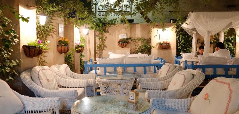 Arabian tea house in old dubai