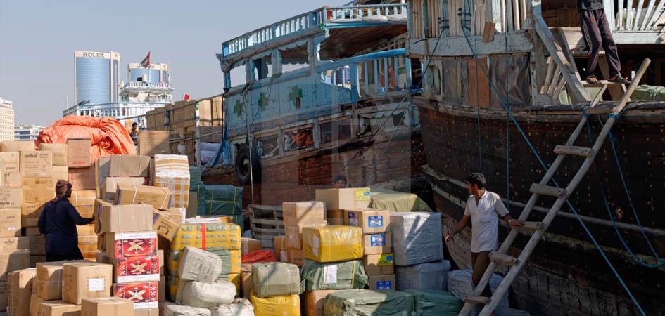 Cargo deck in deira