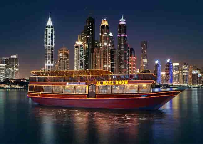 Image result for Dhow Cruise Marina